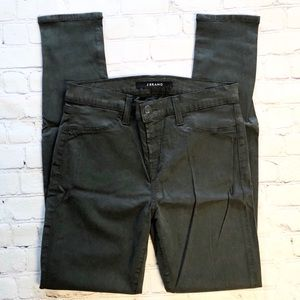 J BRAND Skinny Pants in Green